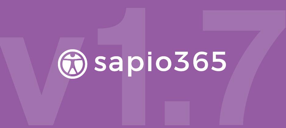 sapio365 v1.7